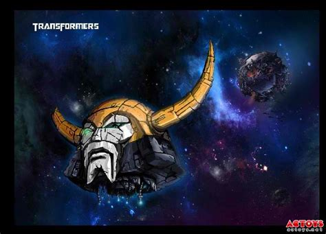 Third-Party Battle Damaged Unicron Head from DR