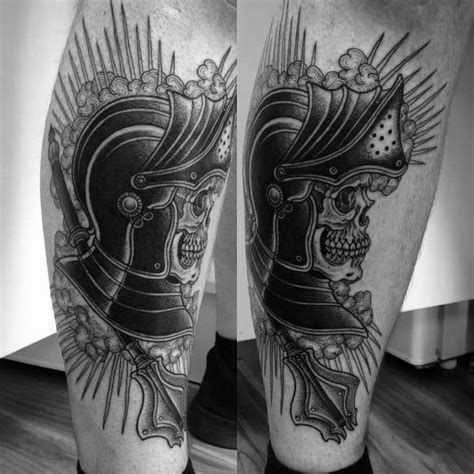 60 Mace Tattoo Designs For Men - Bludgeon and Flail Ink Ideas