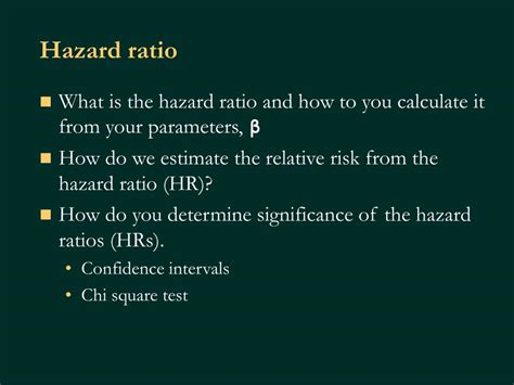 PPT - Introduction to Survival Analysis October 19, 2004