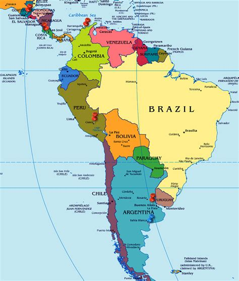 south-america-map - Airlines-Airports