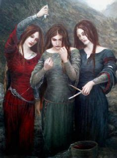 A3 The Norns / Fates Print in 2019 | goddess | Nordische