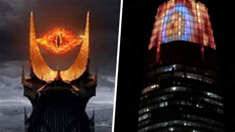 Tallest Skyscraper In San Fransisco Becomes Eye Of Sauron