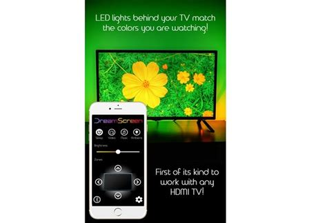 DreamScreen - Smart LED backlighting for any HDMI TV! by