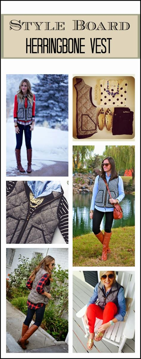 Style Board: Herringbone Vest Edition   Clothed with Grace