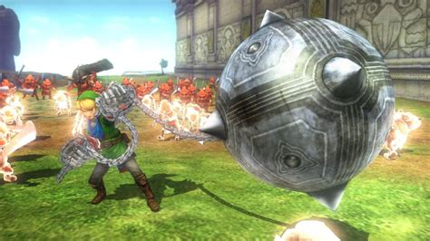 Monsters in Hyrule Warriors are no match for Link's Power