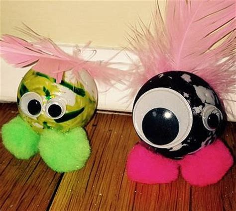 Ping Pong Ball Monsters | Fun Family Crafts