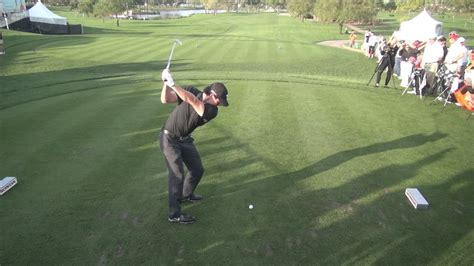 GOLF SWING 2013 - RORY MCILROY IRON DRIVE - ELEVATED DTL