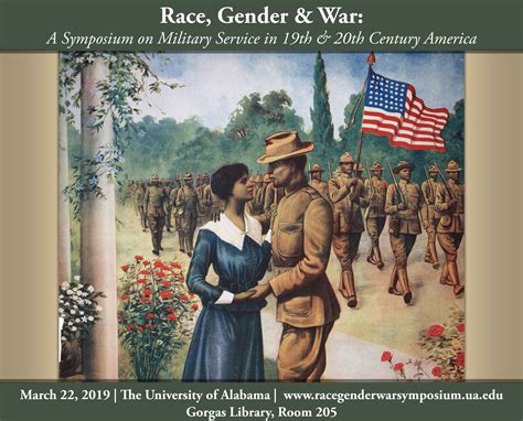 Race and Gender Explorations: A Symposium on War and