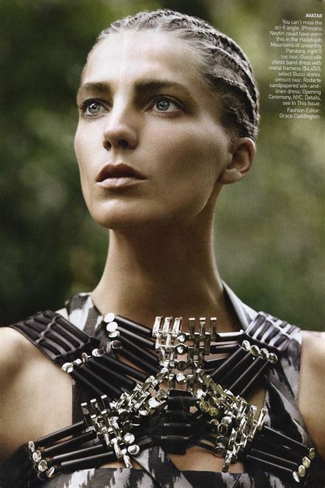 Models Inspiration: Daria Werbowy (Vogue US March 2010)