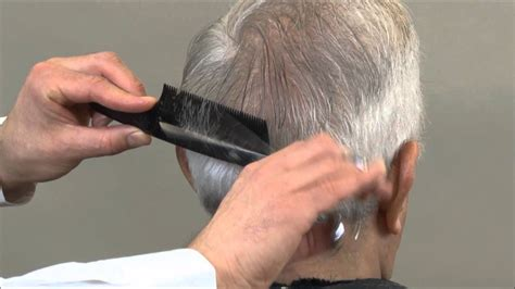 Mad Men Hairstyle - Scissor Over Comb - YouTube