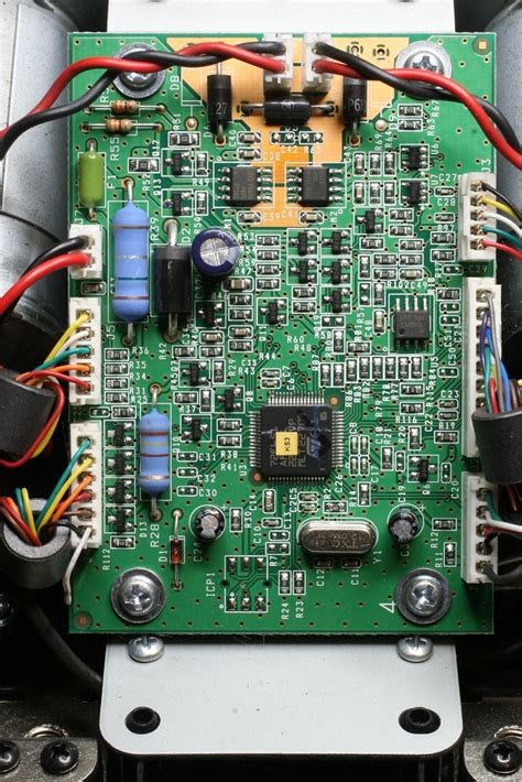 PCB of Logitech G25 Racing Wheel | I was asked to have a