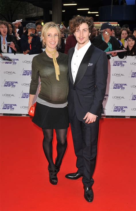 Pictures of Pregnant Sam Taylor-Wood and Her Fiance Aaron