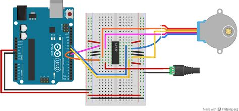 Physical Computing at ITP | Labs / Controlling a Stepper