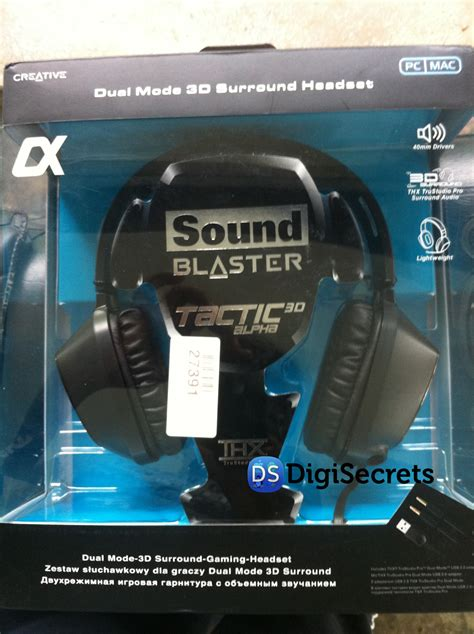 Creative Sound Blaster Tactic 3D Alpha Headset [Review