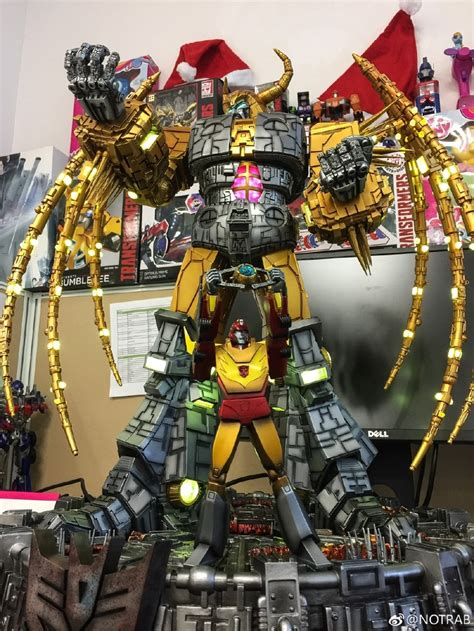 Unicron Lamp From Soldier Story In Hand Photos