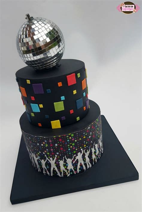 Awesome Disco Themed Cakes