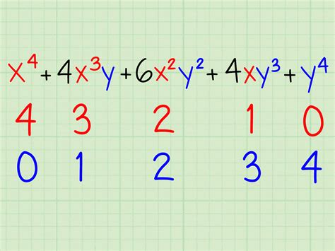 How to Calculate (x+y)^n with Pascal's Triangle: 9 Steps