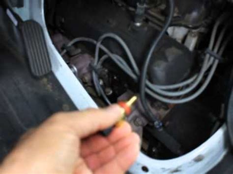 How to replace coolant sensor for Chevy Express 1500 2006