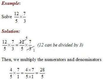 Multiply Fractions with Fractions Worksheet
