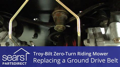 How to Replace a Troy-Bilt Zero-Turn Riding Mower Ground