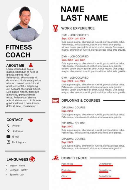 Free CV Template to Fill Out in Word Format | CVs Downloads