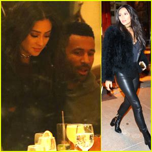 Shay Mitchell & Boyfriend Matte Babel Dine Out in NYC With