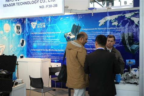 Comate Intelligent Sensor exhibition in HANNOVER MESSE