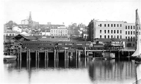 Seattle Lake Shore and Eastern Railway in 1887 - Cool Old