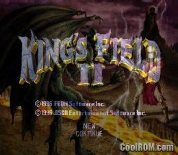 King's Field II ROM (ISO) Download for Sony Playstation