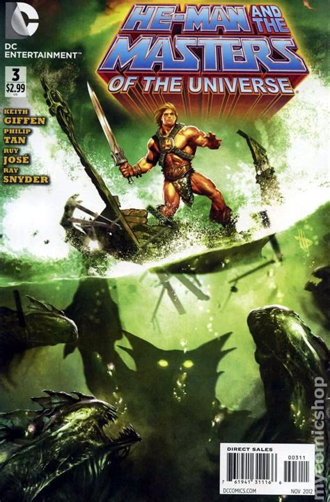 He-Man and The Masters of the Universe (2012 DC) comic books
