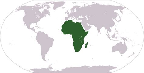 Geography of Africa - Wikipedia