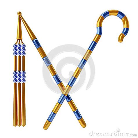 Crook And Flail Stock Illustration - Image: 42088617