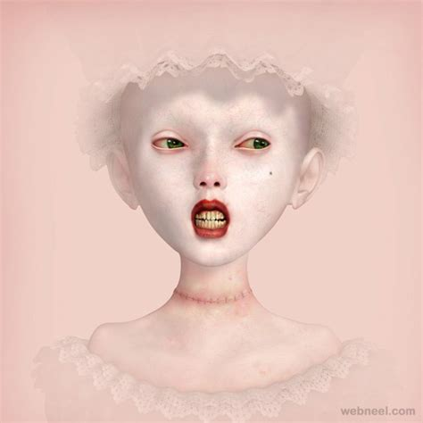 26 Unusual and Surreal Paintings by Ray Caesar - Weird and