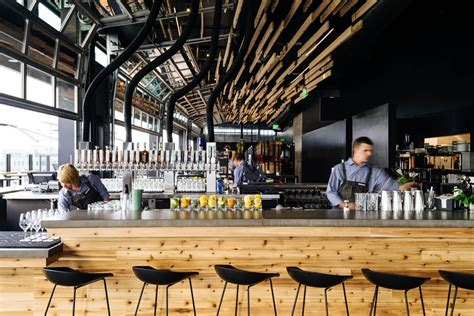 Inside The Source Hotel's Barbecue Restaurant, Brewery