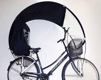 The hooded rain bike in the colors of your business | Etsy