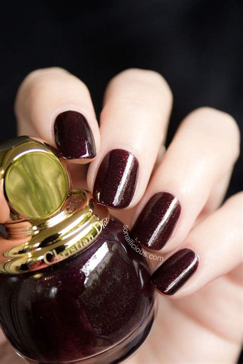 Diorific Vernis 995 Minuit - Review and Swatches