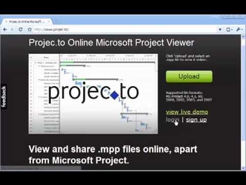 Project Reader - Microsoft Project Viewer