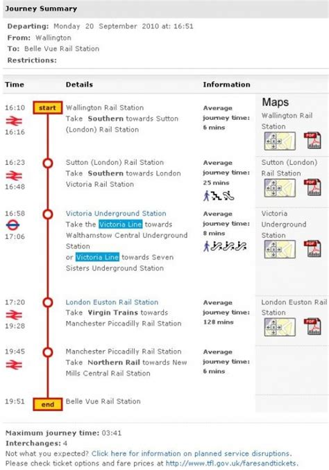 How to Plan UK Travel with TFL Journey Planner   HubPages