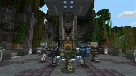 Build your own Halo 5 in this new Minecraft Xbox 360 mash