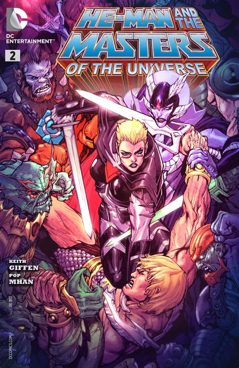 He-Man and the Masters of the Universe Vol 2 2   DC