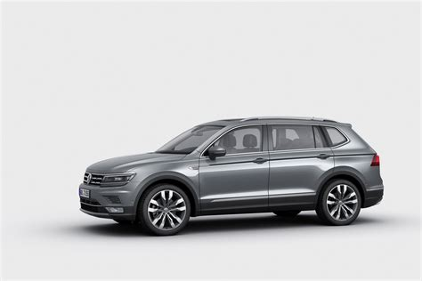 Europe's New VW Tiguan Allspace With 7-Seats Detailed