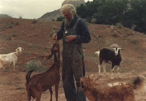 """From the Zephyr Archives: """"The Goat Man""""…Photo by Herb"""