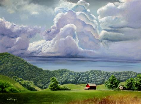 Learn these Landscape oil painting techniques, tips, and