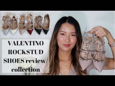 Valentino Shoes | Studded Flat Two Tone Black With Tan