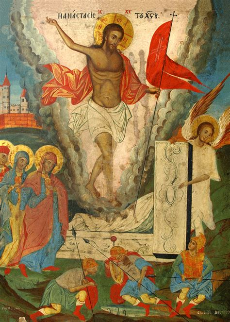 Eastern and Western Depictions of the Resurrection