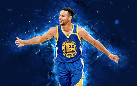 Download wallpapers 4k, Stephen Curry, abstract art