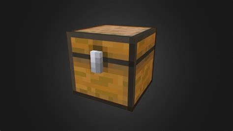 Minecraft Chest - Download Free 3D model by Blender3D