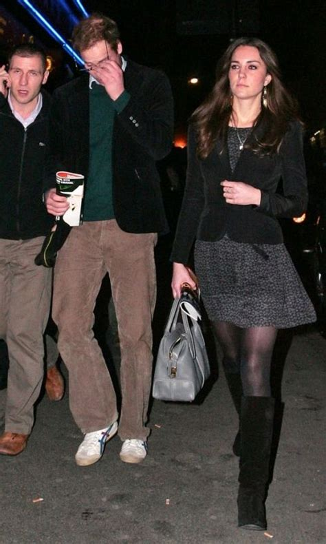 11 December 2009: Prince William and Kate Middleton leave