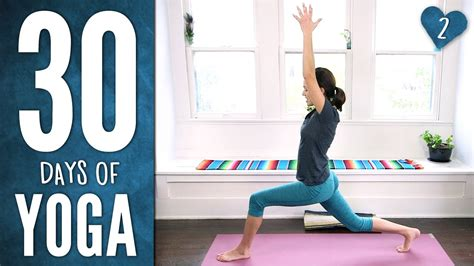 Day 2 - Stretch & Soothe - 30 Days of Yoga - YouTube