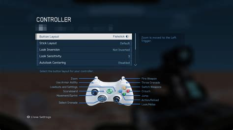 Halo 4 Controller Schemes unveiled